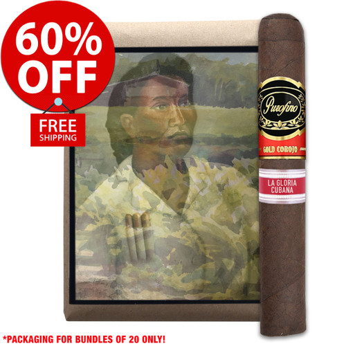 Purofino Black Label Limited Edition By La Gloria Cubana Toro (5x52 / Bundle 10) + 60% OFF RETAIL! + FREE SHIPPING ON YOUR ENTIRE ORDER!