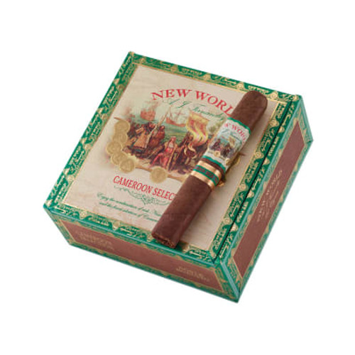 AJ Fernandez New World Cameroon Short Robusto (4x48 / 5 Pack)