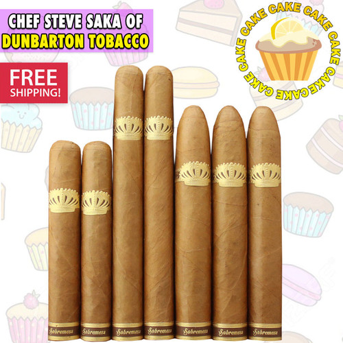 Sobremesa Brulee Cake Flight (7 CIGAR SPECIAL) + FREE SHIPPING ON YOUR ENTIRE ORDER!