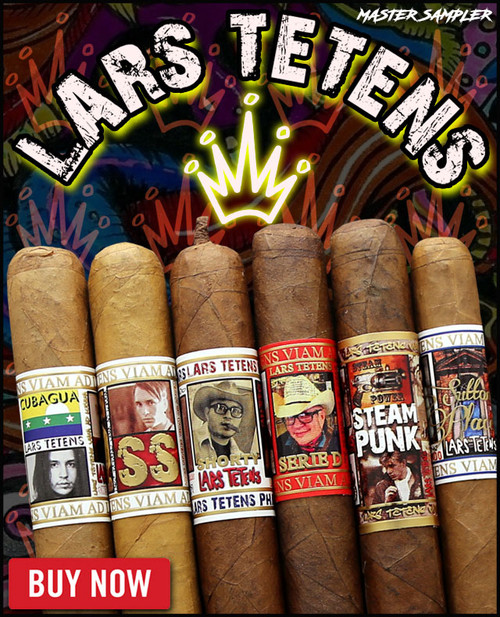 Lars Tetens Master Infusion Pack (6 CIGAR SAMPLER) + FREE SHIPPING ON YOUR ENTIRE ORDER!