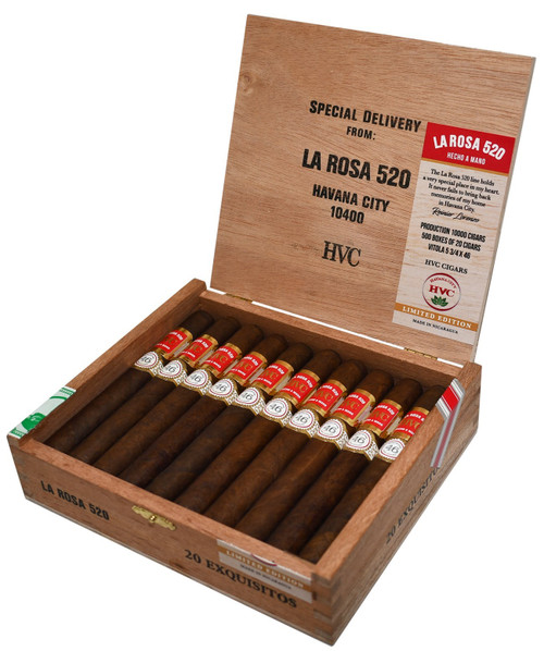 *SOLD OUT* HVC La Rosa 520 Exquisitos Maduros (5.75x46 / Box 20)
