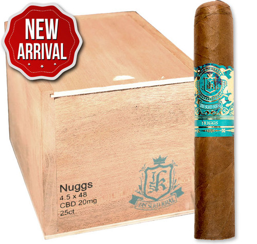 Jas Sum Kral CBD Infused Nuggs Habano 20mg (4.5x48 / Box 25) + FREE SHIPPING ON YOUR ENTIRE ORDER!
