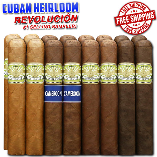 Cuban Heirloom Revolución Custom Flight Pack (16 CIGAR SPECIAL) + FREE SHIPPING ON YOUR ENTIRE ORDER!
