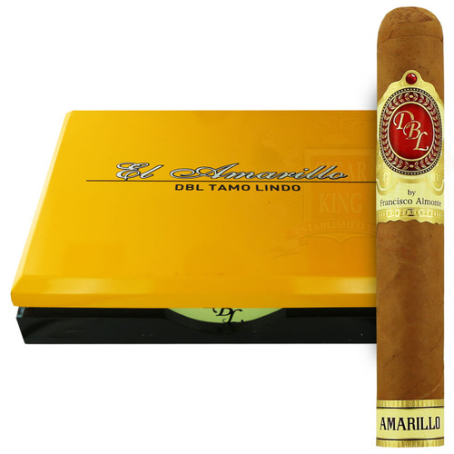 DBL Cigars Amarillo Connecticut Churchill (6.875x47 / Box 20) + FREE SHIPPING ON YOUR ENTIRE ORDER!