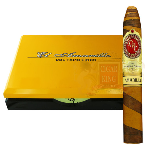 DBL Cigars Amarillo Connecticut Fancy Belicoso (5.625x54 / Box 20) + FREE SHIPPING ON YOUR ENTIRE ORDER!