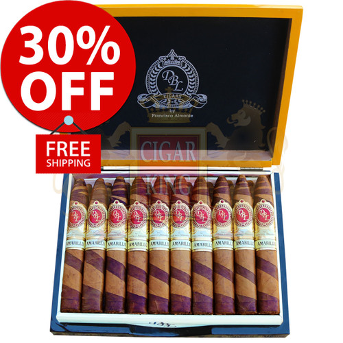 DBL Cigars Amarillo Connecticut Fancy Belicoso (5.625x54 / Box 20) + 30% OFF RETAIL PRICING! + FREE SHIPPING ON YOUR ENTIRE ORDER!