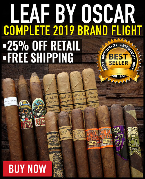 Leaf By Oscar 2019 Complete Brand Flight Tour (14 PACK SPECIAL) + 25% OFF + FREE SHIPPING ON YOUR ENTIRE ORDER!