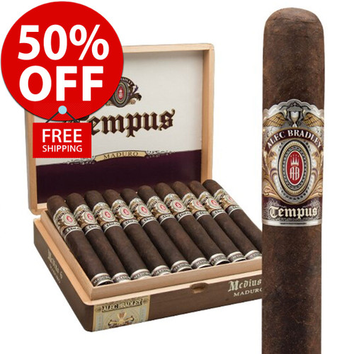 Alec Bradley Tempus Natural Medius (6x52 / 20 PACK SPECIAL) + 50% OFF RETAIL + FREE SHIPPING ON YOUR ENTIRE ORDER!