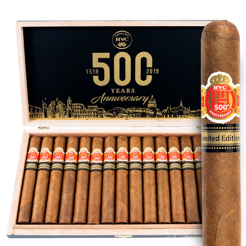 HVC 500th Anniversary Limited Edition (5.75x52 / Box 15) + FREE SHIPPING ON YOUR ENTIRE ORDER!