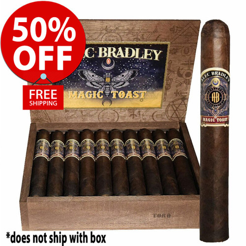 Alec Bradley Magic Toast Toro (6x52 / 20 Pack) + 50% OFF RETAIL! + FREE SHIPPING ON YOUR ENTIRE ORDER!