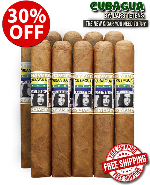 Lars Tetens Cubagua Robusto Sampler (5x50 / 10 PACK SPECIAL) + FREE SHIPPING ON YOUR ENTIRE ORDER!
