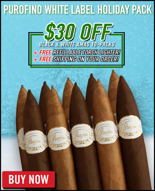 Purofino White Label Holiday Flight (10 PACK SPECIAL) +$30 OFF + FREE REFILLABLE TORCH LIGHTER + FREE SHIPPING ON YOUR ENTIRE ORDER!