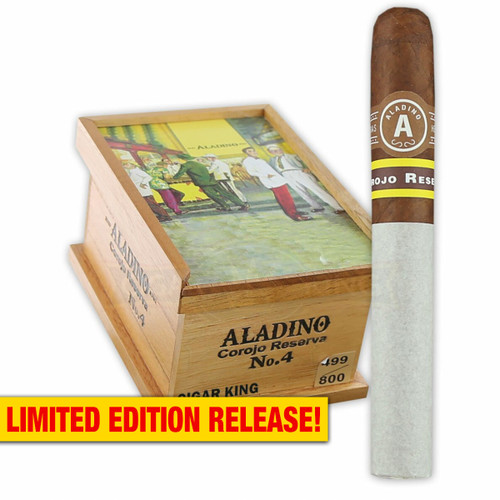 Aladino Corojo Reserva No. 4 (5x44 / Box of 20) + FREE SHIPPING ON YOUR ENTIRE ORDER!