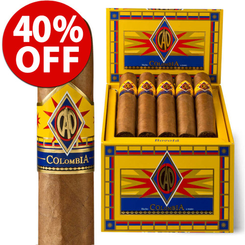 CAO Colombia Robusto (5x52 / 10 PACK SPECIAL) + 40% OFF!