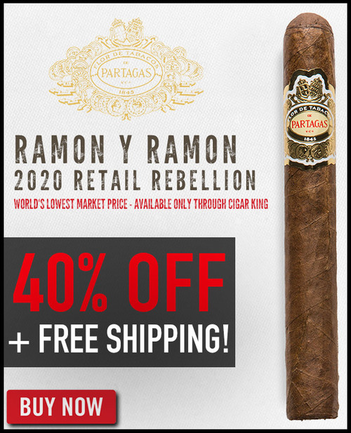 Partagas Ramon y Ramon Maxim Toro (6x52 / 10 Pack) + 40% OFF + FREE SHIPPING ON YOUR ENTIRE ORDER!