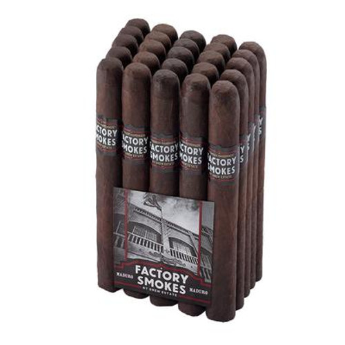 Drew Estate Factory Smokes Maduro Toro (6x52 / Bundle 25)