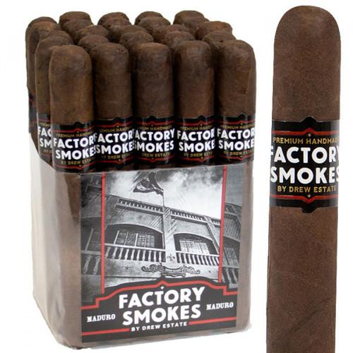 Drew Estate Factory Smokes Maduro Robusto (5x54 / Bundle 25)