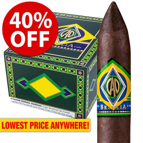 CAO Brazilia Anaconda (8x58 / 10 Pack) + 40% OFF!