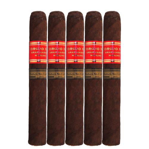 Gran Habano #5 Maduro Corojo Toro (6x54 / 5 Pack)