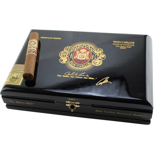 "*SOLD OUT* Rare Arturo Fuente Don Carlos ""Mans 80th"" Personal Reserve (5x50 / 5 Pack) *XMAS PRE-ORDER- SHIPS 12/10 OR BEFORE*"