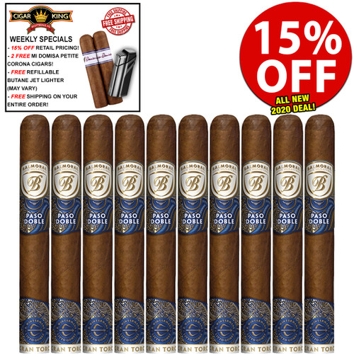 Balmoral Serie Signaturas Paso Gran Toro By LFD (6.2x54 / 10 PACK SPECIAL) + 15% OFF RETAIL PRICING! + FREE 2-PACK OF DOMISA DOMINICA CIGARS ($20 VALUE!) + FREE JET BUTANE LIGHTER ($29.95 VALUE!) + FREE SHIPPING ON YOUR ENTIRE ORDER!