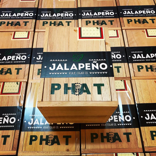 *SOLD OUT* Viaje PHAT Jalapeno Figurado (5.187x55 / 5 Pack)