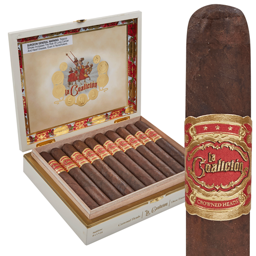 La Coalicion by Crowned Heads & Drew Estate Corona Gorda (5x46 / Box 20)