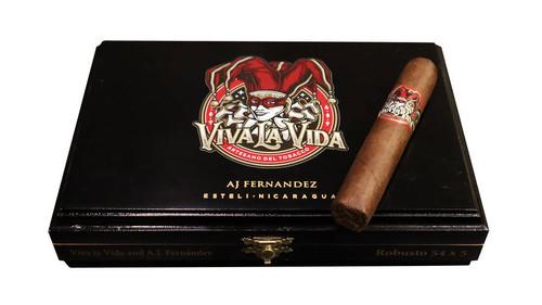 AJ Fernandez Viva La Vida Robusto (5x54 / Box 20)