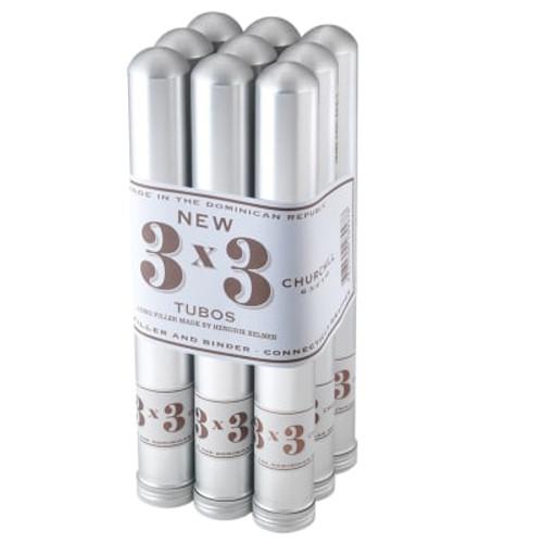 3x3 Tubos by Davidoff Churchill (6.75x50 / Bundle 9)