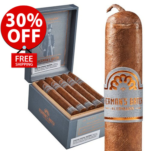 H. Upmann Herman's Batch Robusto (5x54 / Box 20) + FREE SHIPPING ON YOUR ENTIRE ORDER!