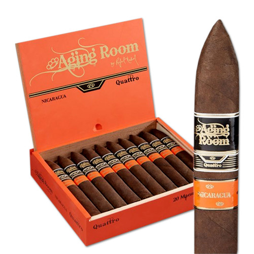 Aging Room Quattro Nicaragua Maestro (6x52 / Box 20) + 15% OFF RETAIL! + FREE SHIPPING ON YOUR ENTIRE ORDER!