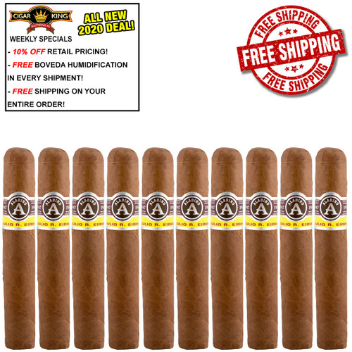 Aladino #1 Petite Corona (4x40 / 10 PACK SPECIAL) + FREE SHIPPING ON YOUR ENTIRE ORDER!
