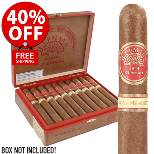 H Upmann Hispaniola By Jose Mendez (6x52 / 10 PACK BLOWOUT) + 40% OFF RETAIL + FREE SHIPPING ON YOUR ENTIRE ORDER!