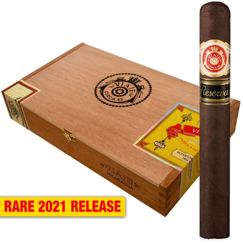 Viaje 2021 Circa '45 Reserva No. 3 Nicaragua (5.5x58 / Box 25) + 10% OFF RETAIL! + FREE SHIPPING ON YOUR ENTIRE ORDER!
