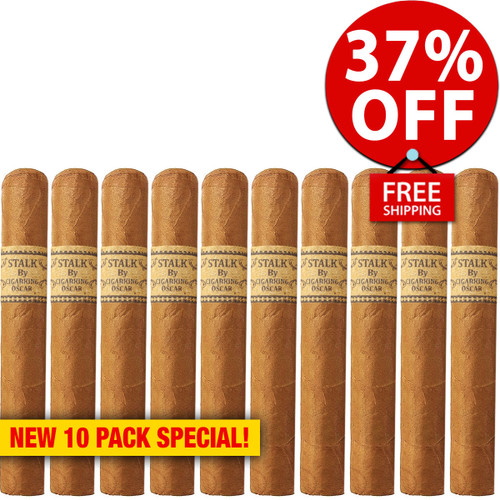 STALK by Leaf By Oscar Connecticut Toro (6x52 / 10 PACK SPECIAL) + 37% OFF RETAIL! + FREE SHIPPING ON YOUR ENTIRE ORDER!