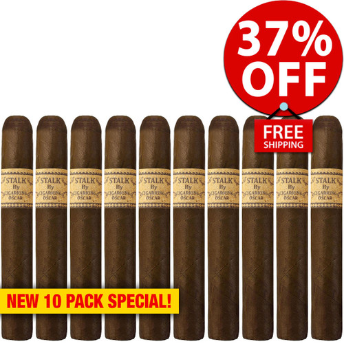 STALK by Leaf By Oscar Maduro Toro (6x52 / 10 PACK SPECIAL) + 37% OFF RETAIL! + FREE SHIPPING ON YOUR ENTIRE ORDER!
