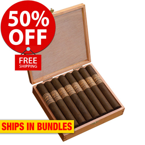 STALK by Leaf By Oscar Maduro Toro (6x52 / Bundle 20) + 50% OFF RETAIL! + FREE BOVEDA FRESH PACK! + FREE SHIPPING ON YOUR ENTIRE ORDER!
