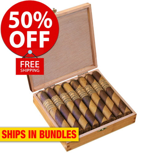 STALK by Leaf By Oscar Barber Pole Toro (6x52 / Bundle 20) + 50% OFF RETAIL! + FREE BOVEDA FRESH PACK! + FREE SHIPPING ON YOUR ENTIRE ORDER!