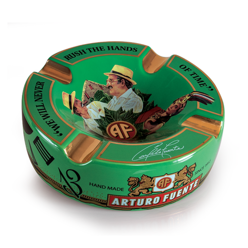 Arturo Fuente Hands Of Time Ashtray Green