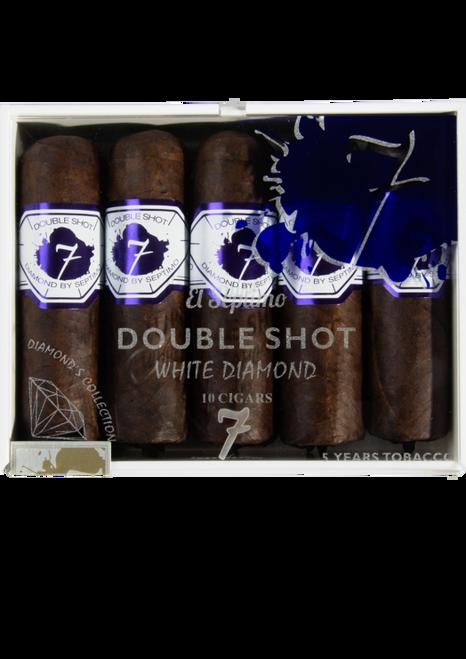 El Septimo Geneva Diamond Series Double Shot White (3.75x68 / Box 25)