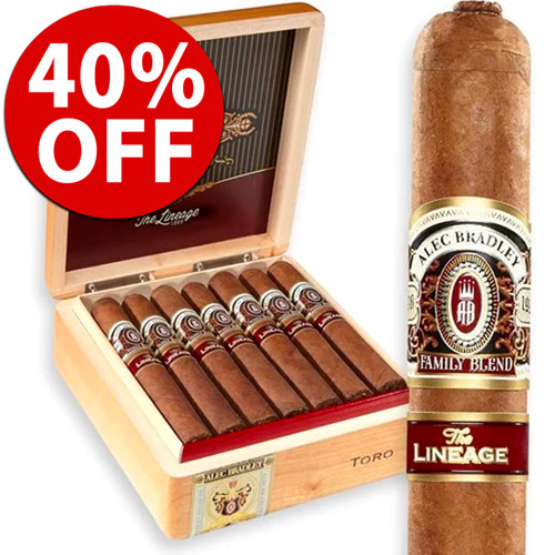 Alec Bradley The Lineage Robusto (5.25x52 / 10 PACK SPECIAL) + 40% OFF!