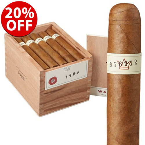 Warped Serie Gran Reserva 1988 Robusto (5.25x50 / Box 25) + 20% OFF RETAIL! + FREE SHIPPING ON YOUR ENTIRE ORDER!