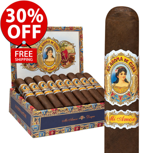 La Aroma de Cuba Mi Amor Valentino (6x60 / 10 PACK SPECIAL) + 30% OFF RETAIL + FREE SHIPPING ON YOUR ENTIRE ORDER!