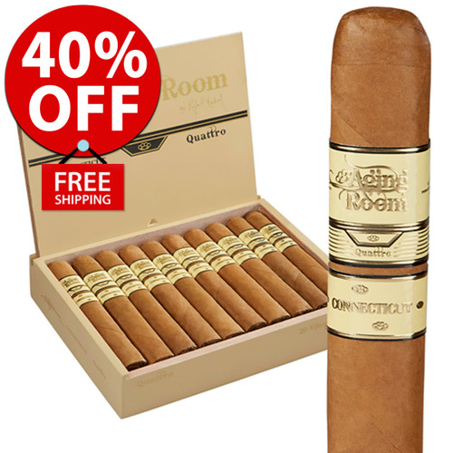 Aging Room Quattro Connecticut Maestro (6x52 / Box 20) + 40% OFF! + FREE SHIPPING ON YOUR ENTIRE ORDER!
