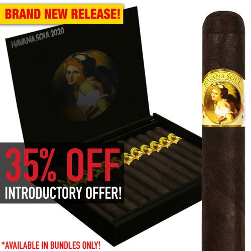 Havana Soul IV 2020 Toro By AJ Fernandez (6x52 / Bundle 20) + 35% OFF RETAIL! + FREE SHIPPING ON YOUR ENTIRE ORDER!