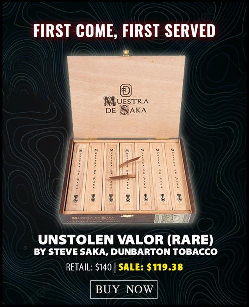 Rare Muestra de Saka Unstolen Valor (6x52 / Box 7)
