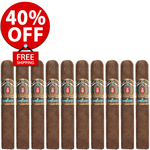 Alec Bradley Prensado Lost Art Robusto (5x52 / 10 PACK SPECIAL) + 40% OFF RETAIL! + FREE SHIPPING ON YOUR ENTIRE ORDER!