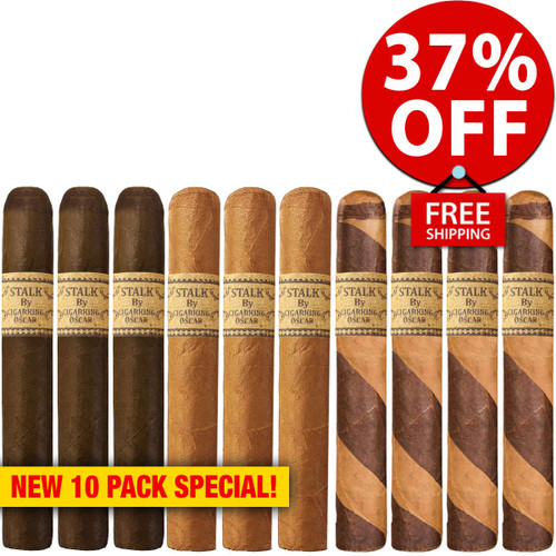 STALK by Leaf By Oscar Factory Flight Toro (6x52 / 10 PACK SPECIAL) + 37% OFF RETAIL! + FREE SHIPPING ON YOUR ENTIRE ORDER!
