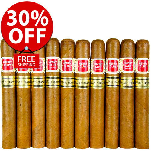 Henry Clay War Hawk Toro (6x50 / 11 PACK SPECIAL) + 30% OFF RETAIL! + FREE SHIPPING ON YOUR ENTIRE ORDER!