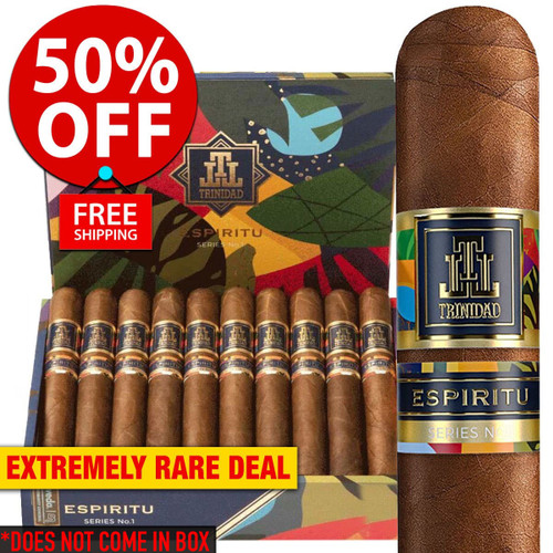 *SOLD OUT* Trinidad Espiritu No. 1 Toro (6x54 / 18 PACK SPECIAL) + 50% OFF RETAIL! + FREE SHIPPING ON YOUR ENTIRE ORDER!